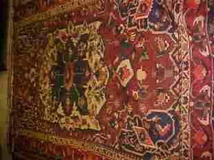 (8668) Baktar handmade wool Persian Rug