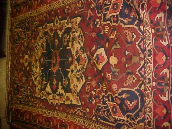 3: (8668) Baktar handmade wool Persian Rug