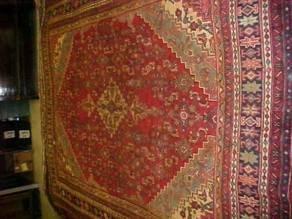 4: (9426) Mahal handmade wool Persian Rug