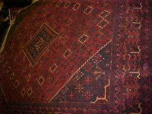 (8731) Sosheghan handmade wool Persian Rug