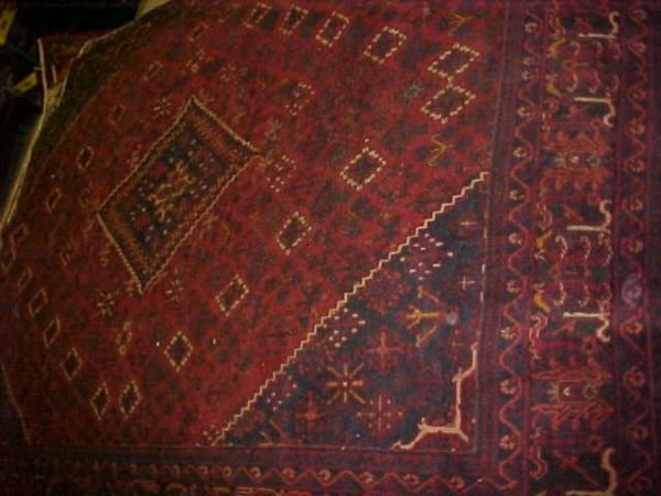 5: (8731) Sosheghan handmade wool Persian Rug