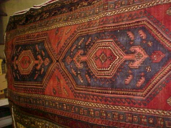 7: (9176) Hamadan handmade wool Persian Rug