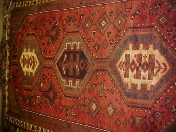 8: (9706) Shivaz handmade wool Persian Rug