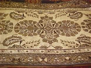 (9018) Khorasan handmade wool Persian Rug