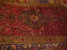 11: (9474) Tabriz handmade wool Persian Rug