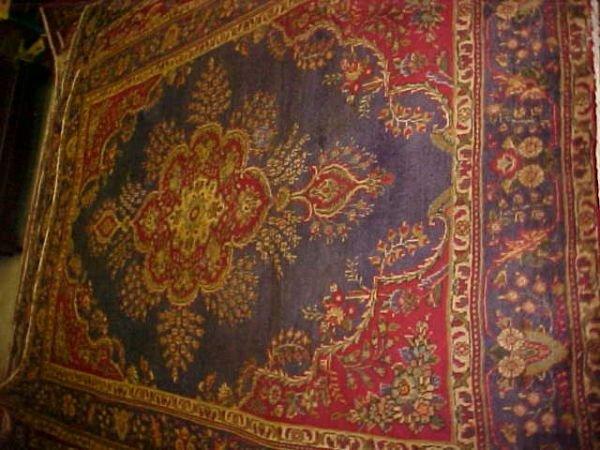 12: (8588) Tabriz handmade wool Persian Rug