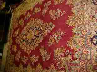 (9751) Kerman handmade wool Persian Rug