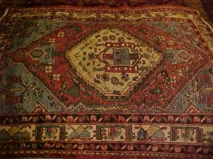 (9085) Mahal handmade wool Persian Rug