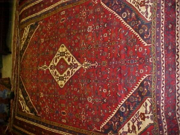 18: (9427) Mahal handmade wool Persian Rug