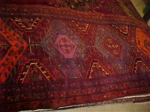 (8787) Zanjar handmade wool Persian Rug