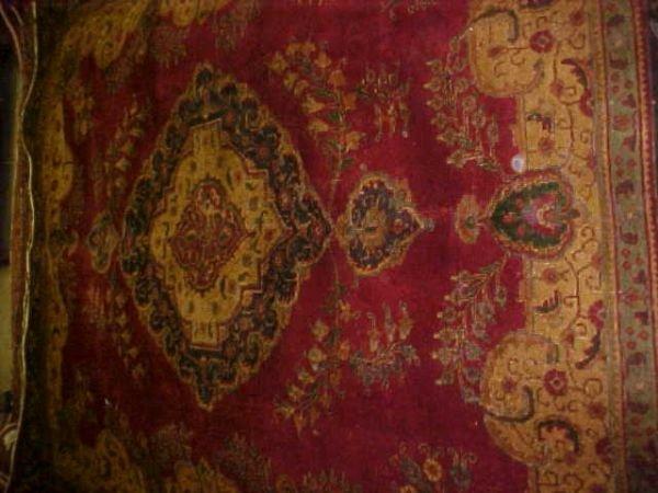 21: (8633) Tabriz handmade wool Persian Rug