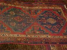 22: (9083) Hamadan handmade wool Persian Rug