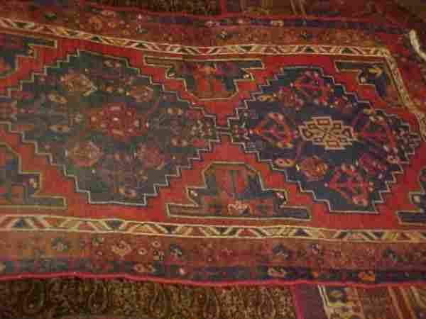 (9083) Hamadan handmade wool Persian Rug
