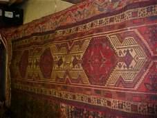 23: (8586) Kviae handmade wool Persian Rug