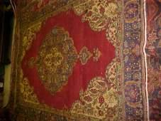 26: (8720) Tabriz handmade wool Persian Rug