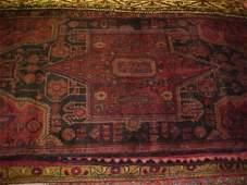 29: (9534) Hamadan handmade wool Persian Rug