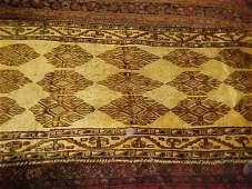 30: (9084) Gabeh handmade wool Persian Rug