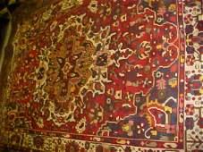 38: (8669) Baktar handmade wool Persian Rug
