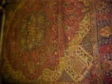 39: (9401) Tabriz handmade wool Persian Rug