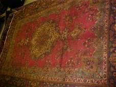 40: (8650) Tabriz handmade wool Persian Rug