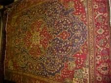 41: (8639) Tabriz handmade wool Persian Rug