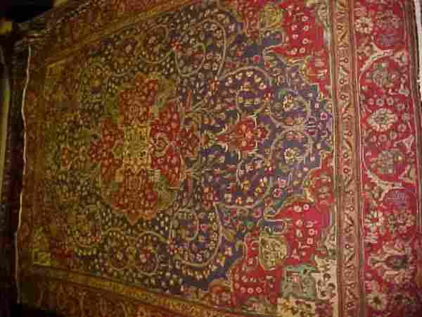(8639) Tabriz handmade wool Persian Rug