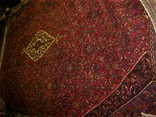 42: (9372) Hamadan handmade wool Persian Rug