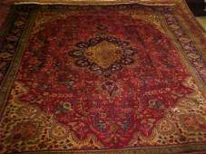48: (7645) Tabriz handmade wool Persian Rug