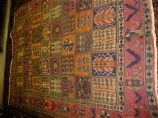 55: (8667) Baktar handmade wool Persian Rug