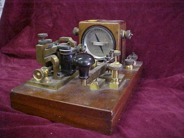 406: 1915 Telegraph machine WG Pye & Co
