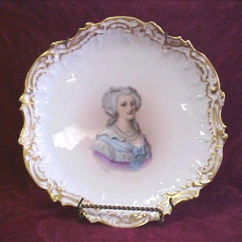410: Limoge hand painted plate 1900-1920s