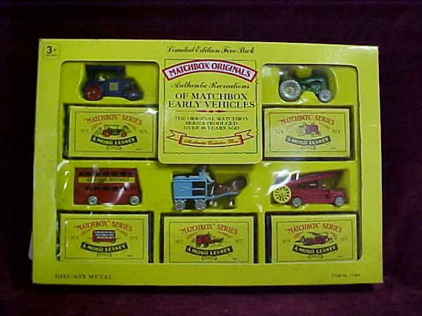 707: 5 pack Matchbox Recreations of Yesteryear