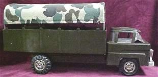 Marx Futuristic military toy truck w cover