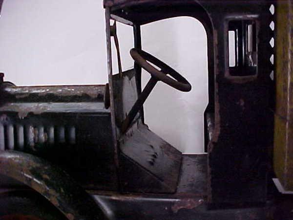 713: 1920s Keystone Packard US Mail toy truck - 2