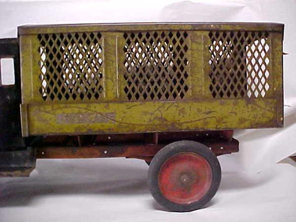 713: 1920s Keystone Packard US Mail toy truck - 3