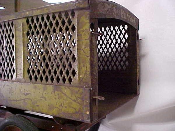 713: 1920s Keystone Packard US Mail toy truck - 4