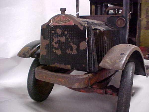 713: 1920s Keystone Packard US Mail toy truck - 5
