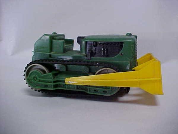 716: 1950s Marx toy bulldozer