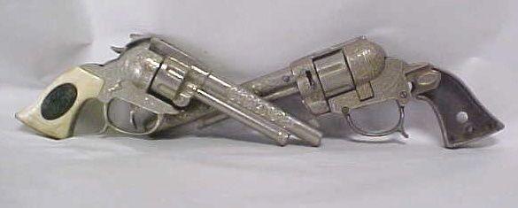 2 Gene Autry cap pistols #44 and Stallion