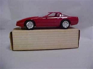 1990 #6034 red Corvette ZRI promo boxed
