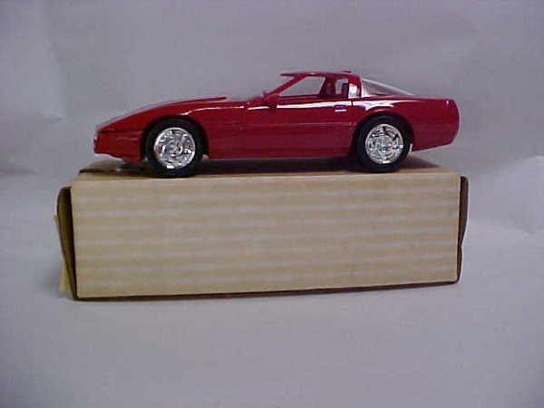 721: 1990 #6034 red Corvette ZRI promo boxed