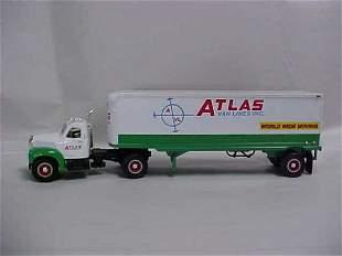 Mack toy semi-truck Atlas Moving Lines