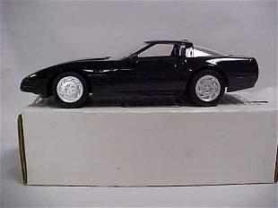 1992 black #6566 ZRI Corvette promo toy car