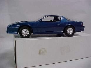 1987 blue #6104EO Z28 Camaro promo car