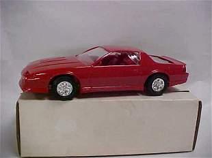 1990 #6043 Iroc-Z red Camaro promo toy car