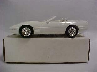 1991 #6044EP White Conv Corvette promo car