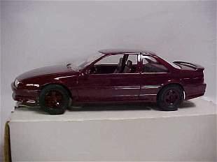 1990 #6038 maroon GTZ Beretta promo toy car