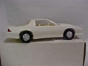 1990 #6039 white Iroc Z Camaro promo toy car