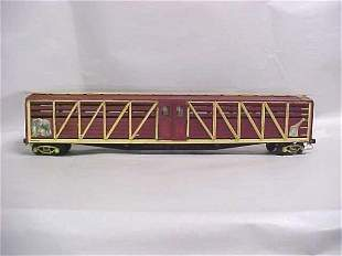1920s Wooden toy circus car