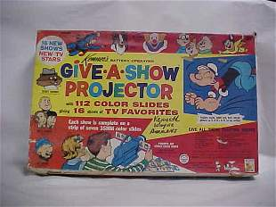 1966 Kenner Give-a-show 16 film strips